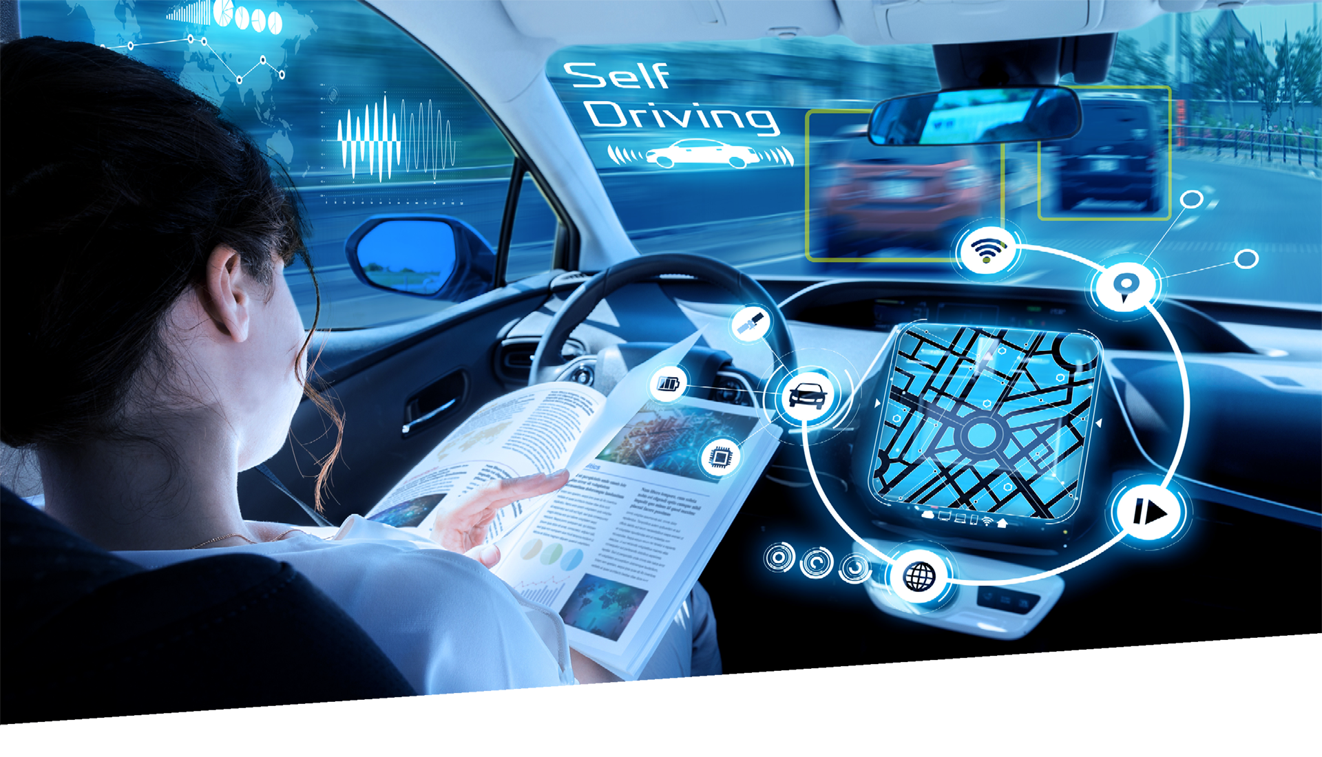 Technologies, Technologies & Trends, Autonomous driving, E-mobility, Human centric, Commodity innovation,