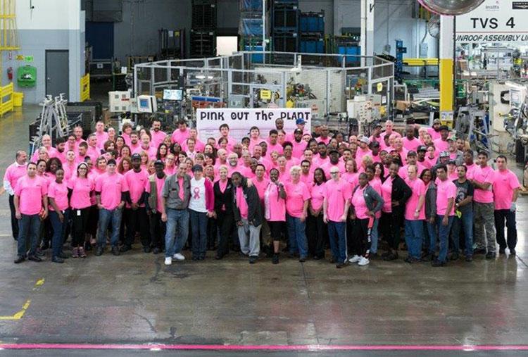 Pink Ribbon USA, Inalfa