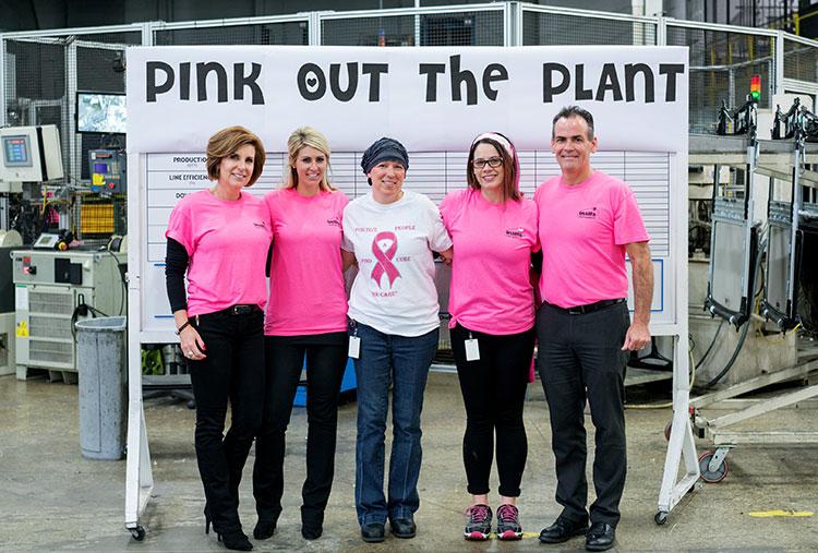 Inalfa supports Pink Ribbon actions in USA.