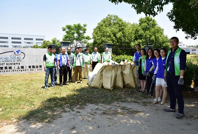 Inalfa China Shanghai Plant Environmental Activities.