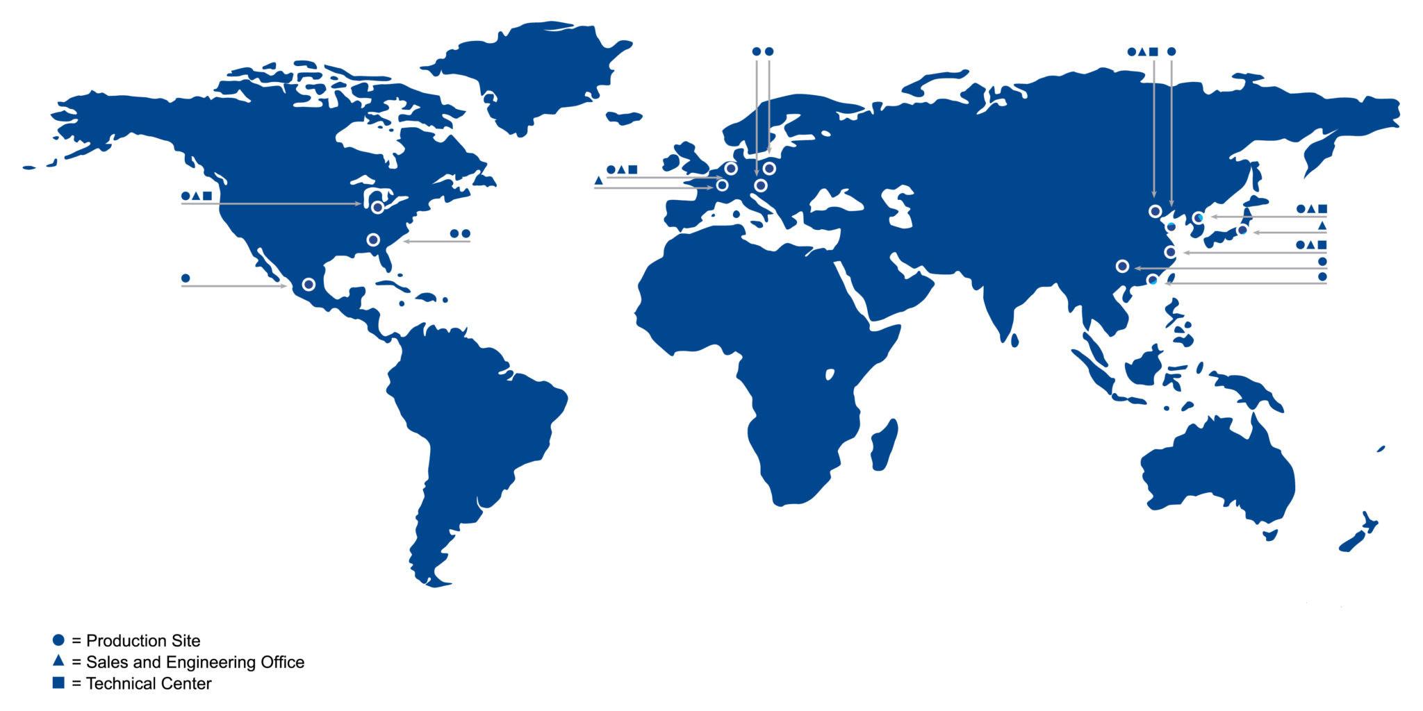 Inalfa global presence