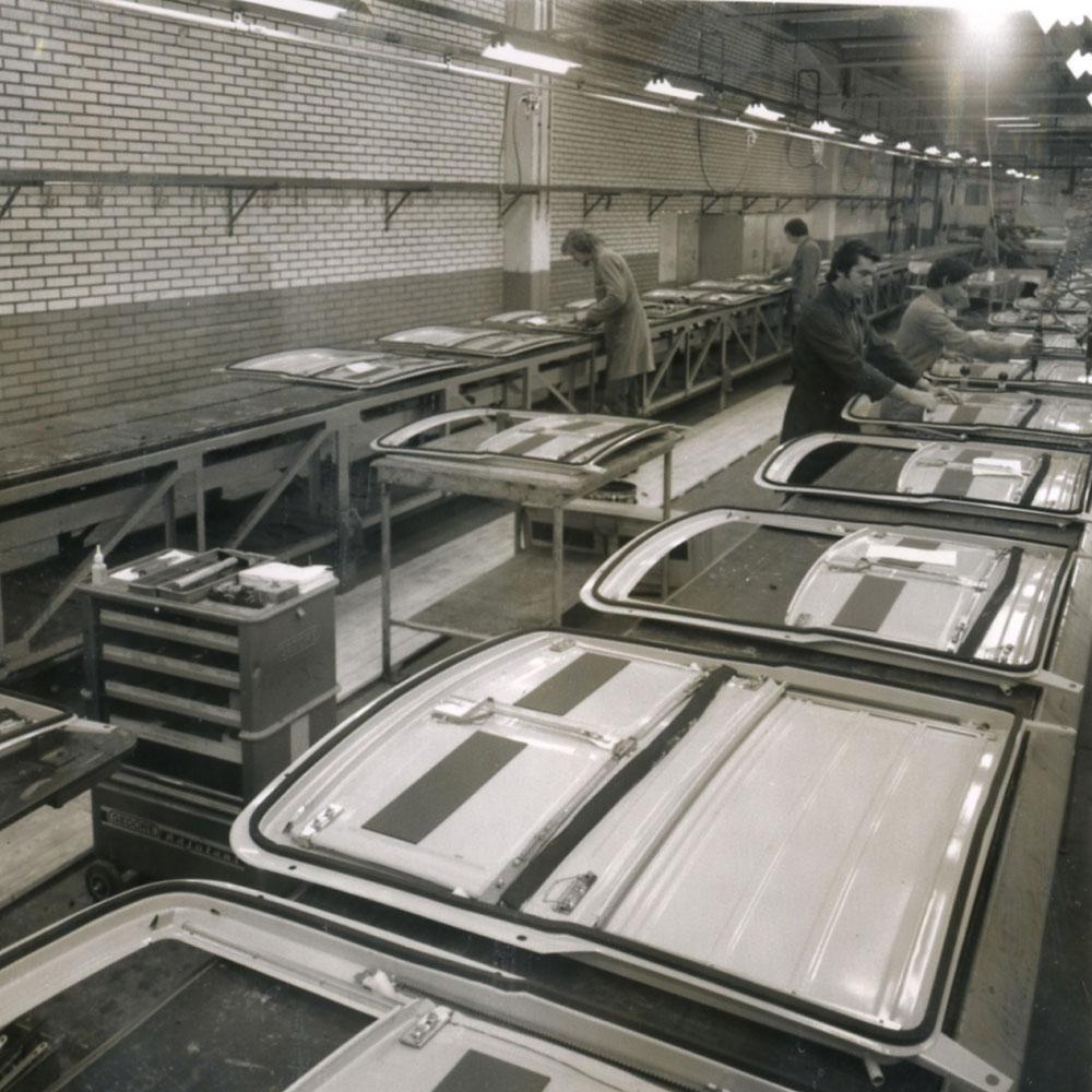 History Inalfa Roofsystems